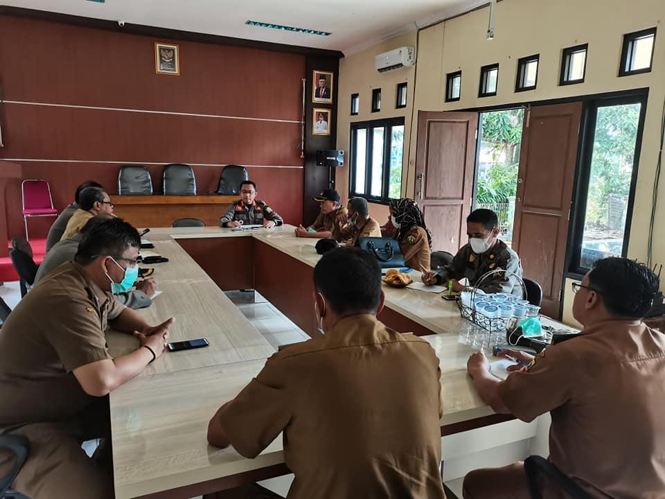 Rapat Rutin OPD Kecamatan Serang