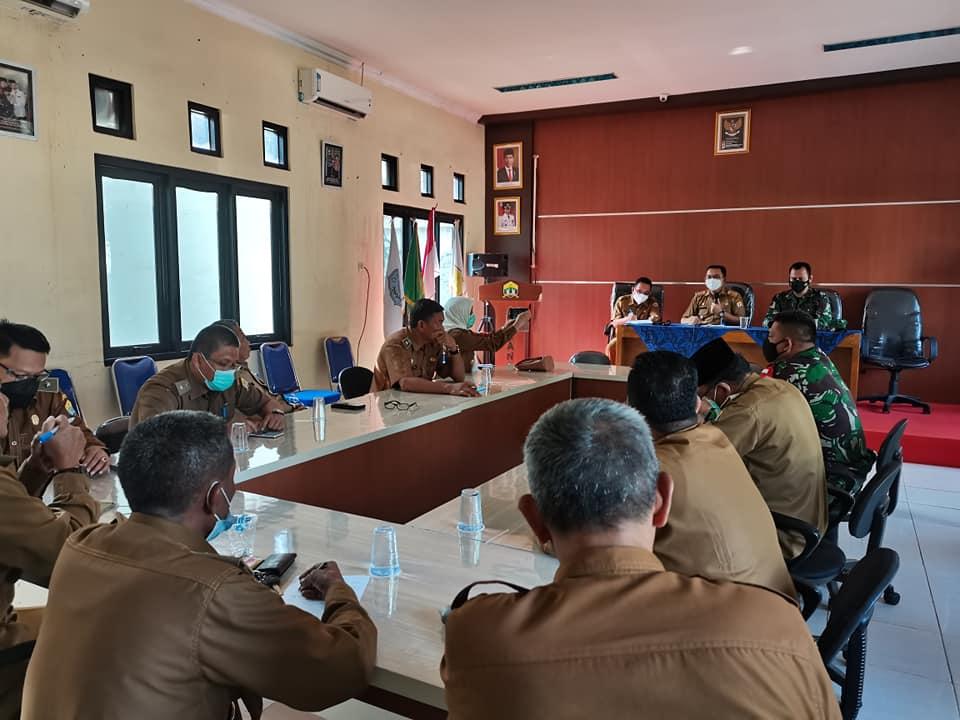 Rapat MUSPIKA Kecamatan Serang