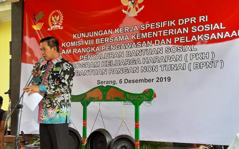 Kunjungan Kerja Spesifik DPR RI Komisi VIII Bersama Kementerian Sosial Dalam Rangka Pengawasan dan Pelaksanaan Penyaluran Bantuan Sosial