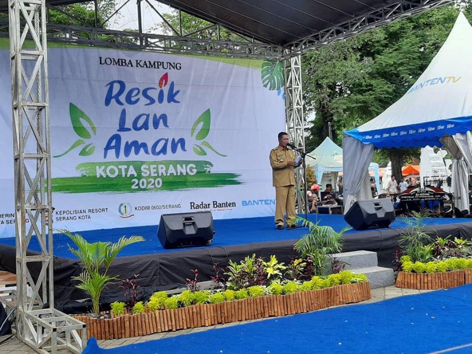 Launching Lomba Kampung Resik Lan Aman Kota Serang Tahun 2020