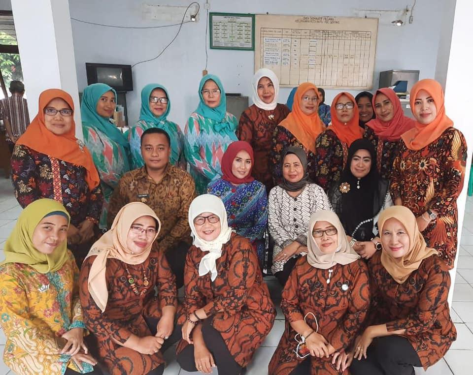 Pembinaan Lomba Dasawisma Tingkat Provinsi Banten oleh Ibu Walikota Serang