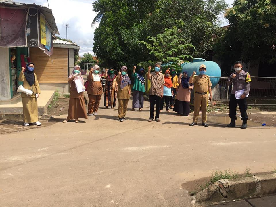 Sosialiasi Covid-19 Kelurahan Sukawana