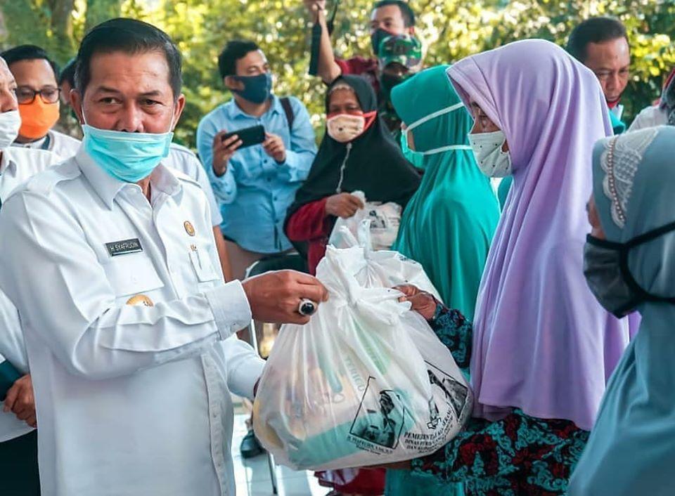 Bantuan Janda Lansia Walikota Serang