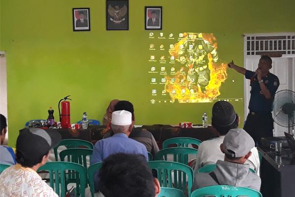 Sosialisasi Pemberdayaan Masyarakat Tentang Penanggulangan Bencana Kelurahan Terondol