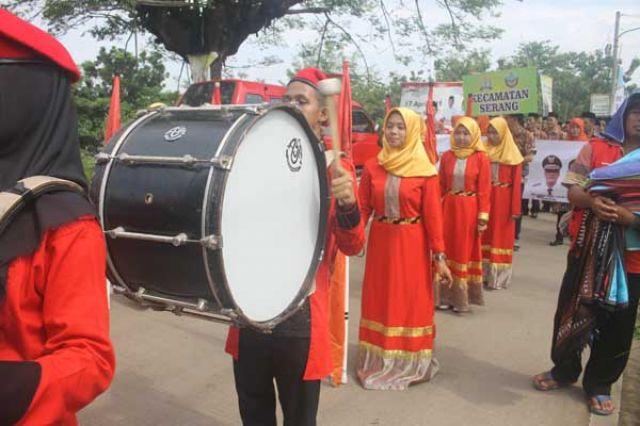 Marcing Band Kecamatan Serang