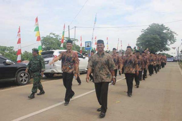 Pawai MTQ IX Tingkat Kota Serang Tahun 2019
