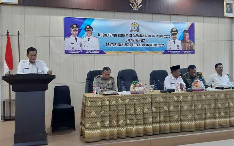 Musyawarah Rencana Pembangunan Kecamatan Serang Tahun 2020